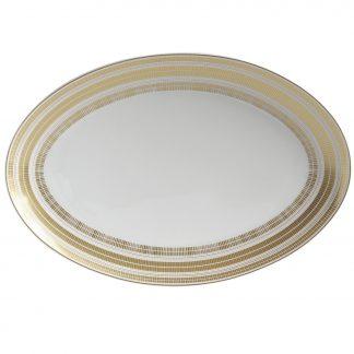 "Bernardaud Canisse Oval Platter 13"""