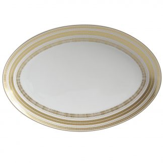 "Bernardaud Canisse Oval Platter 15"""