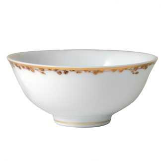 Bernardaud Capucine Rice Bowl 4.7""