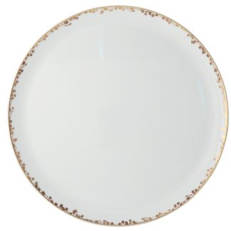 "Bernardaud Capucine Tart Platter - Round 13"""