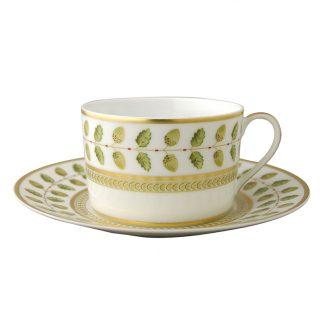 Bernardaud Constance Breakfast Cup & Saucer