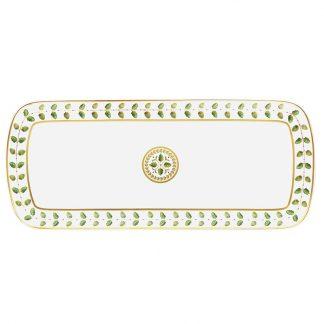 "Bernardaud Constance Cake Platter Rectangular 16"""