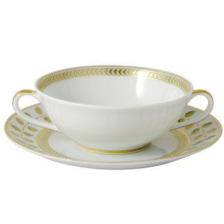 Bernardaud Constance Cream Cup And Saucer