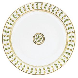 "Bernardaud Constance Deep Round Dish 11.5"""