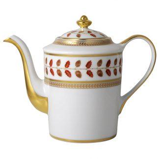 Bernardaud Constance Rouge Coffee Pot