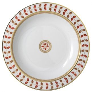 Bernardaud Constance Rouge Deep Round Dish