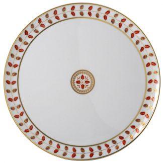Bernardaud Constance Rouge Tart Platter - Round