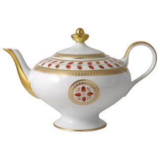 Bernardaud Constance Rouge Teapot