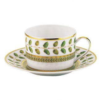 Bernardaud Constance Tea Cup And Saucer