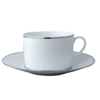 Bernardaud Cristal Breakfast Cup Saucer