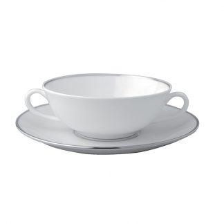 Bernardaud Cristal Cream Cup And Saucer