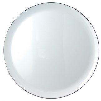 "Bernardaud Cristal Tart Platter - Round 13"""