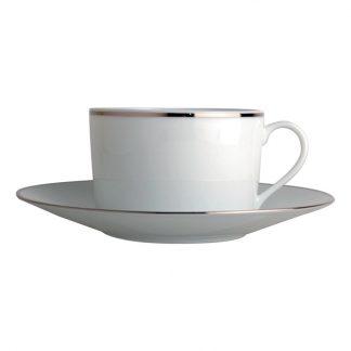 Bernardaud Cristal Tea Cup Saucer