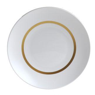 Bernardaud Cronos Or Deep Round Dish 11.5''