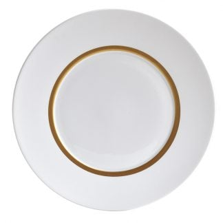 Bernardaud Cronos Or Dinner Plate 10.6""