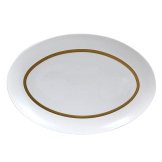 Bernardaud Cronos Or Oval Platter 13''