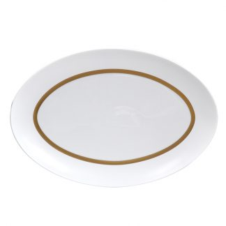 Bernardaud Cronos Or Oval Platter 15''