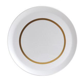 Bernardaud Cronos Or Round Tart Platter