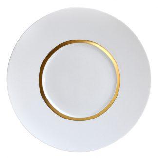 "Bernardaud Cronos Or Service Plate 12.2"""