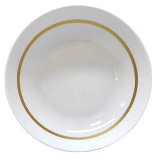 Bernardaud Cronos Or Soup Plate 7.5""
