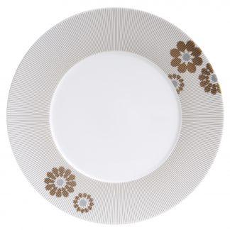 "Bernardaud Dolce Vita Dinner Plate 10.6"""