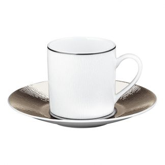 Bernardaud Dune Coffee Cup And Saucer