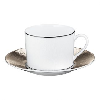 Bernardaud Dune Tea Cup And Saucer