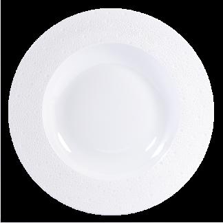 """Bernardaud Ecume White Service Plate 11.4"""""""