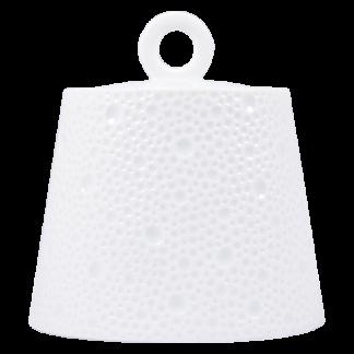 Bernardaud Ecume White Sugar Bowl 6c 8.5oz