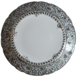 Bernardaud Eden Platine Deep Round Dish