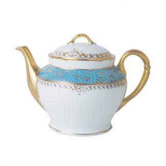 Bernardaud Eden Turquoise Teapot 12c
