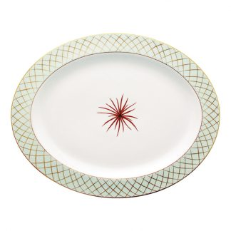 "Bernardaud Etoiles Oval Platter 15"""
