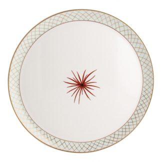 "Bernardaud Etoiles Tart Platter - Round 13"""