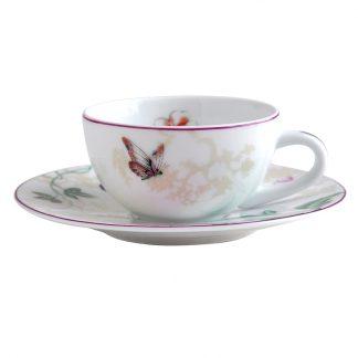 Bernardaud Favorita Coffee Cup And Saucer
