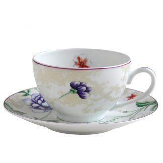 Bernardaud Favorita Tea Cup And Saucer