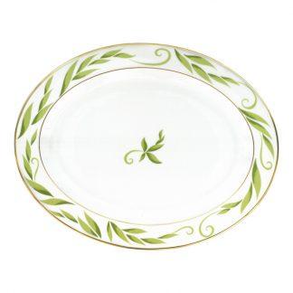 "Bernardaud Frivole Oval Platter 13"""