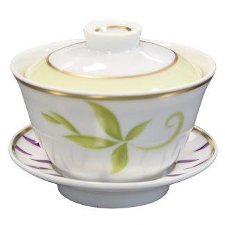 Bernardaud Frivole Small Covered Cup
