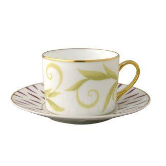 Bernardaud Frivole Tea Cup And Saucer
