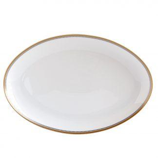 "Bernardaud Gage Oval Platter 13"""