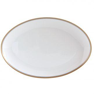 "Bernardaud Gage Oval Platter 15"""