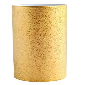 "Bernardaud Gouttes D'or Vase H. 6.3"""