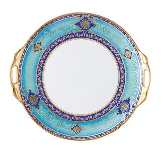 Bernardaud Grace Cake Plate With Handles - Round 11""