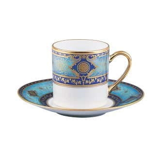 Bernardaud Grace Coffee Cup Saucer