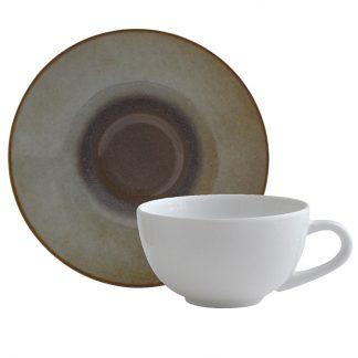 Bernardaud Iris Coffee Cup And Saucer