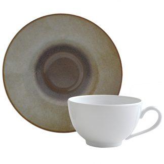 Bernardaud Iris Tea Cup And Saucer