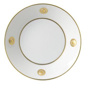 Bernardaud Ithaque Or Gold Soup Plate 7.5""