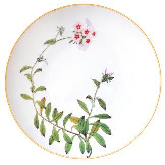 Bernardaud Jardin Indien Deep Round Dish