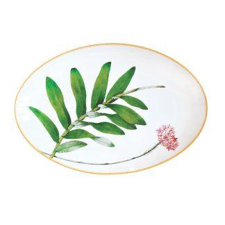 Bernardaud Jardin Indien Oval Platter 15''