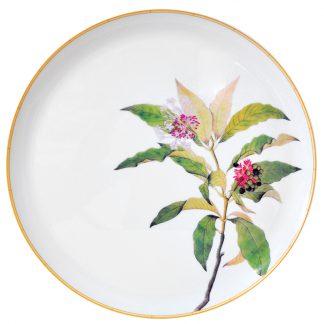 Bernardaud Jardin Indien Tart Platter