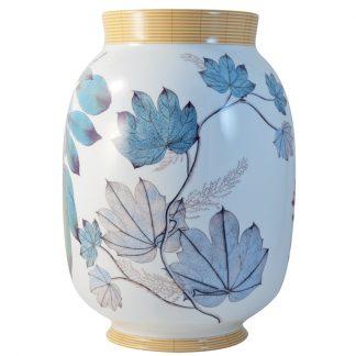 "Bernardaud Jardin Indien Toscan Vase 13.6"""